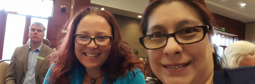 Juliana and Tracey at event Sept 2015