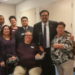 picture of SWI and ACDL staff with Adrian Fontes newly elected Maricopa County Recorder