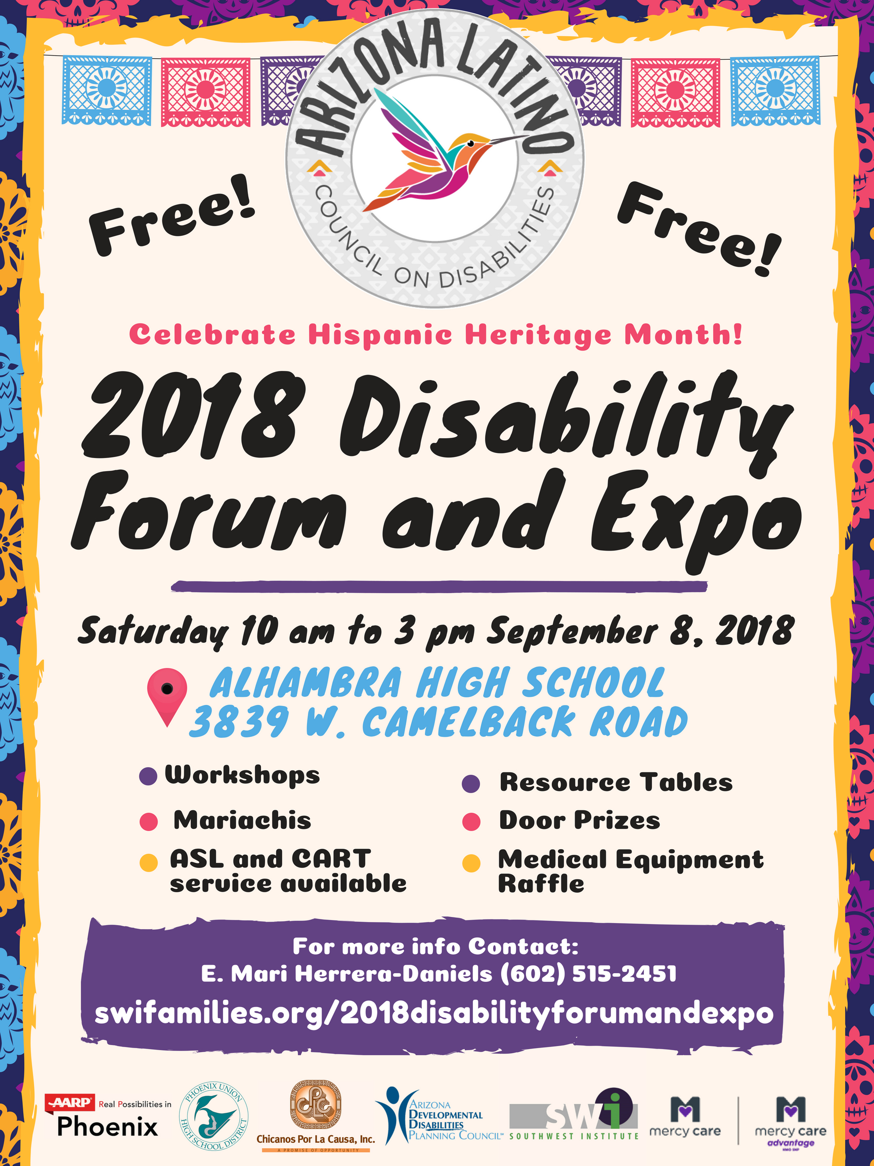 Poster of the 2018 Disability Forum and Expo