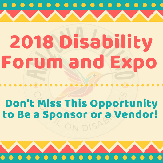 2018 Disability Forum and Expo