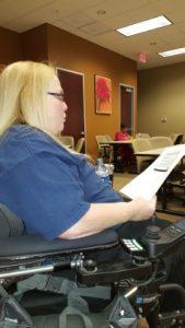 Teresa Moore reading survey